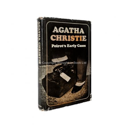 Poirot's Early Cases by Agatha Christie First Edition Collins 1974